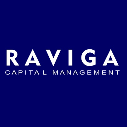 Raviga Capital Management dark blue