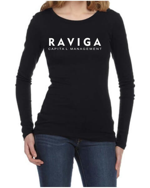 Raviga Capital Management ladies long sleeve shirt