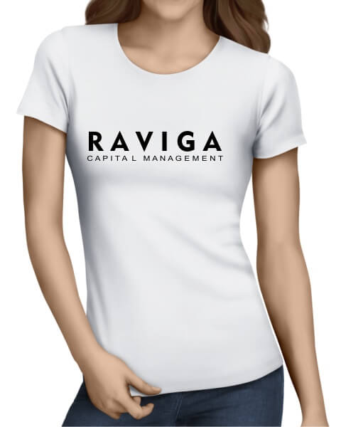 Raviga Capital Management ladies short sleeve shirt