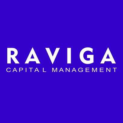 Raviga Capital Management light blue