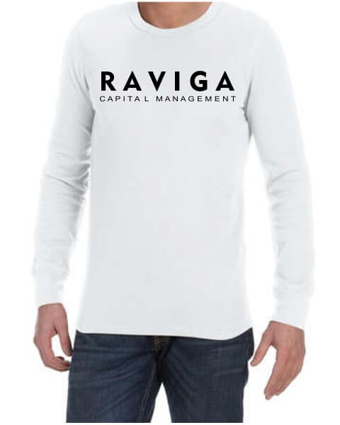 Raviga Capital Management mens long sleeve shirt