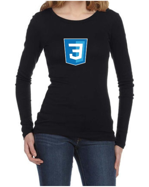 Silicon Valley CSS3 ladies long sleeve