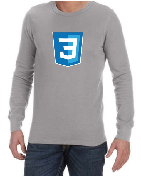 Silicon Valley CSS3 long sleeve