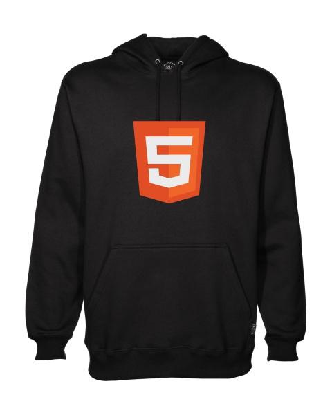 html 5 logo hoodie