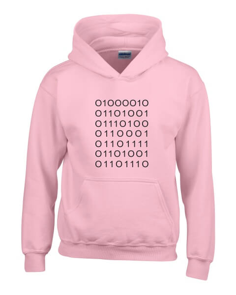 Silicon Valley plain coding ladies hoodie