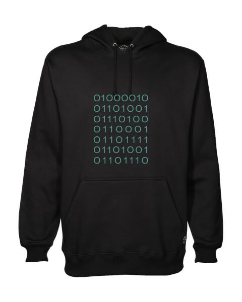 Silicon Valley plain coding mens hoodie