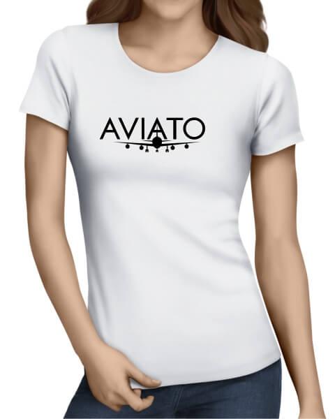 Silicon Vally Aviato plane ladies short sleeve shirt