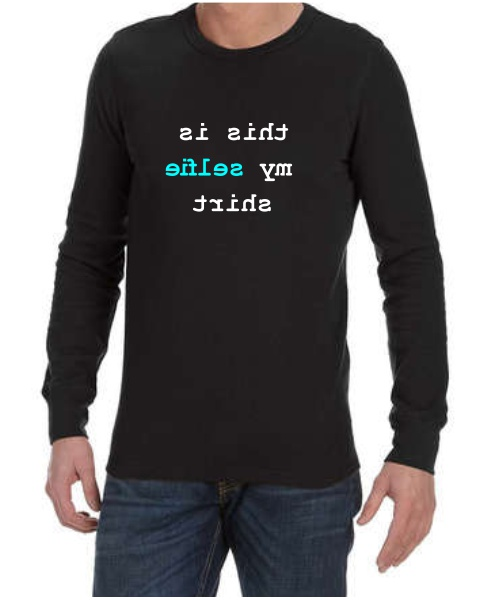 This Is My Selfie mens long sleeve