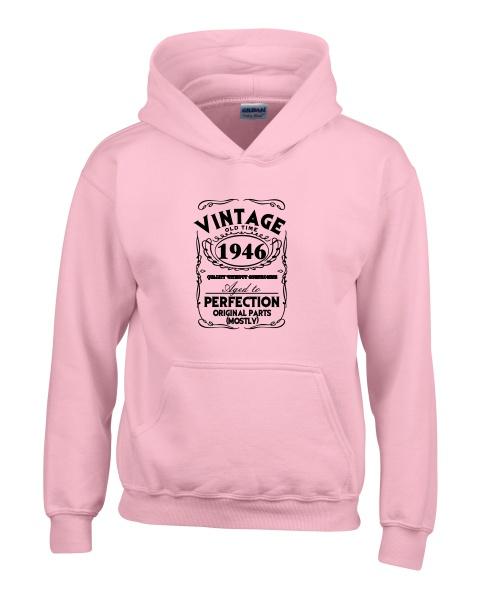 Vintage ladies hoodie