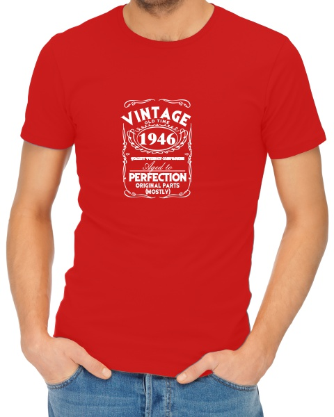 Vintage mens short sleeve