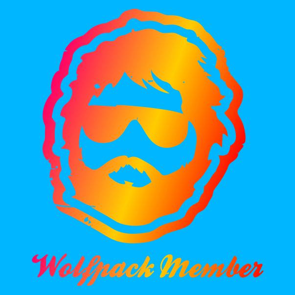 Wolfpack Member Azure Blue