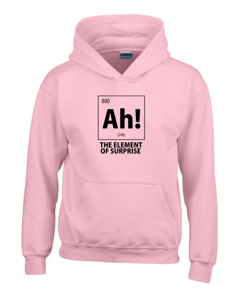 ah the element of surprise nerdy ladies hoodie