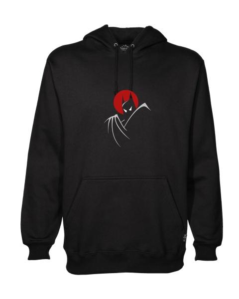 batman moonlight mens hoodie