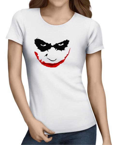 joker smile ladies short sleeve
