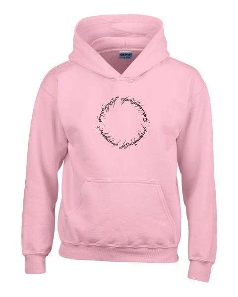 lord of the rings script ladies hoodie
