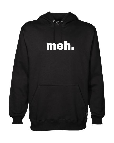 meh mens hoodie