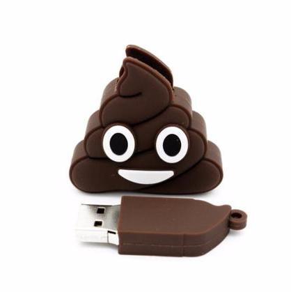 poop emoji usb drive 02