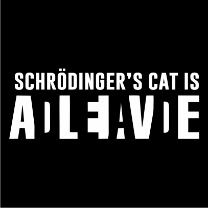 schrodingers cat black