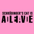 schrodingers cat light pink