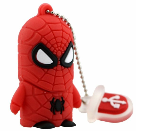 spiderman usb flash drive juicebubble