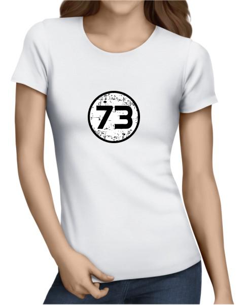 73 Ladies White