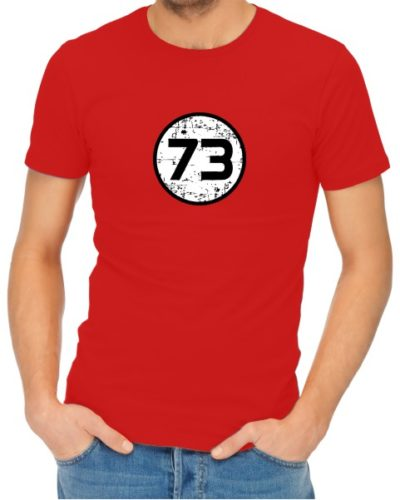 73 Mens Red
