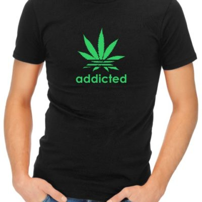 Addicted Mens Black