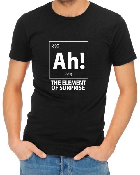 Ah The Element of Surprise Mens Black