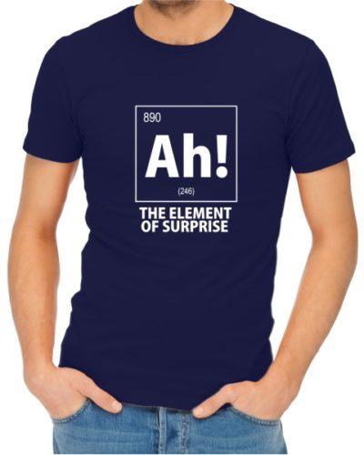 Ah The Element of Surprise Mens Navy