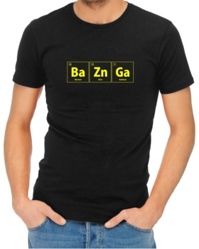 BaZnGa Mens Black