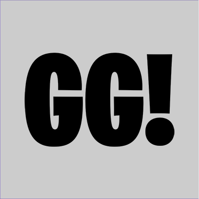GG grey square