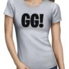 GG ladies tshirt grey