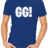GG mens tshirt blue