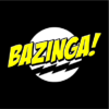 bazinga black square