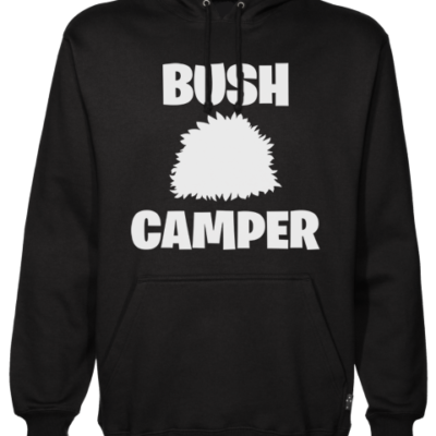 bush camper Black Hoodie
