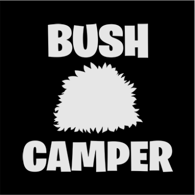 bush camper black square