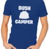bush camper mens tshirt blue