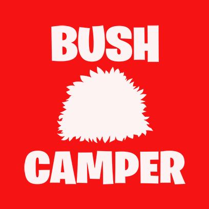 bush camper red square