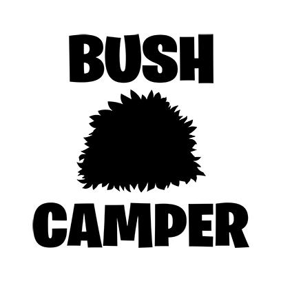 bush camper white square
