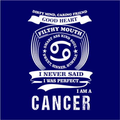 cancer navy square