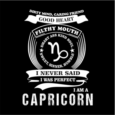capricorn black square