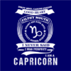 capricorn navy square