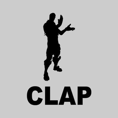 clap grey square