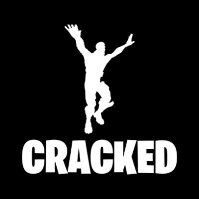 cracked black square