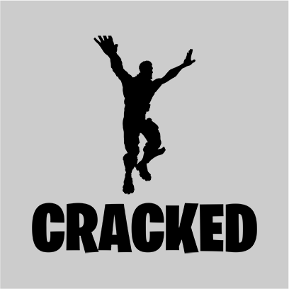 cracked grey square