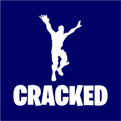 cracked navy square