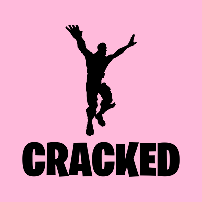cracked pink square
