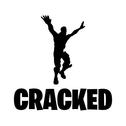 cracked white square