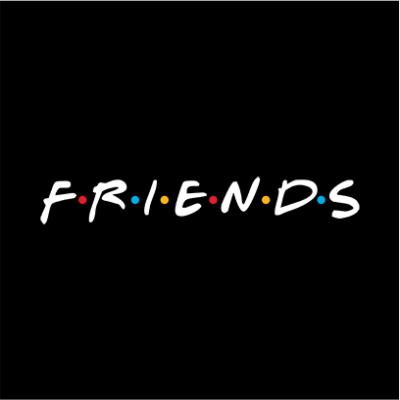 friends black square