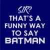 funny batman navy square